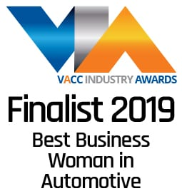 VACC Industry Awards Finalist - Best Business Woman in Automotive