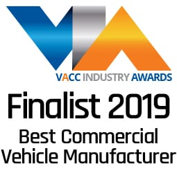 VACC Industry Awards Finalist - Best Commercial Vehicle Manufacturer